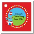 Circus Seal - Personalized Birthday Party Card Stock Favor Tags thumbnail