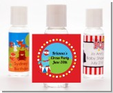 Circus Seal - Personalized Birthday Party Hand Sanitizers Favors