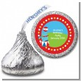 Circus Seal - Hershey Kiss Birthday Party Sticker Labels thumbnail