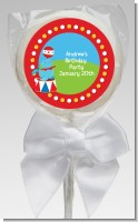 Circus Seal - Personalized Birthday Party Lollipop Favors