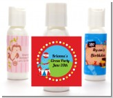 Circus Seal - Personalized Birthday Party Lotion Favors