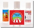 Circus Tent - Personalized Birthday Party Hand Sanitizers Favors thumbnail