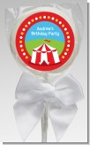 Circus Tent - Personalized Birthday Party Lollipop Favors