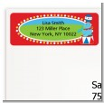 Circus - Birthday Party Return Address Labels thumbnail