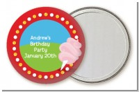 Circus Cotton Candy - Personalized Birthday Party Pocket Mirror Favors