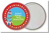 Circus Seal - Personalized Birthday Party Pocket Mirror Favors