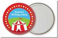 Circus Tent - Personalized Birthday Party Pocket Mirror Favors