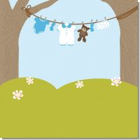 Clothesline It's A Boy Baby Shower Theme