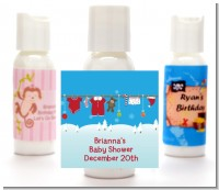 Clothesline Christmas - Personalized Christmas Lotion Favors