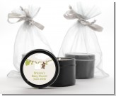 Clothesline It's A Baby - Baby Shower Black Candle Tin Favors