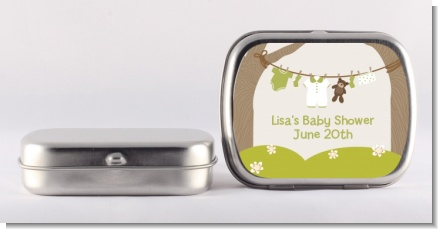 Clothesline It's A Baby - Personalized Baby Shower Mint Tins