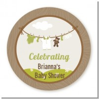 Clothesline It's A Baby - Personalized Baby Shower Table Confetti