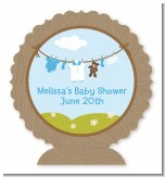 Clothesline It's A Boy - Personalized Baby Shower Centerpiece Stand