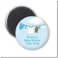 Clothesline It's A Boy - Personalized Baby Shower Magnet Favors