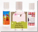 Clothesline It's A Girl - Personalized Baby Shower Hand Sanitizers Favors