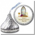 Communion Collage - Hershey Kiss Baptism / Christening Sticker Labels thumbnail