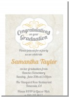 Con-Grad-ulations - Graduation Party Petite Invitations