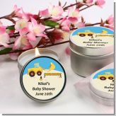 Construction Truck - Baby Shower Candle Favors