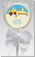 Construction Truck - Personalized Baby Shower Lollipop Favors