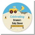 Construction Truck - Personalized Baby Shower Table Confetti thumbnail