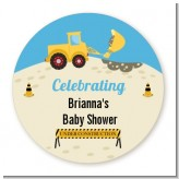 Construction Truck - Personalized Baby Shower Table Confetti