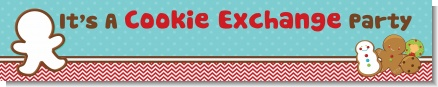 Cookie Exchange - Personalized Christmas Banners
