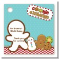 Cookie Exchange - Personalized Christmas Card Stock Favor Tags thumbnail
