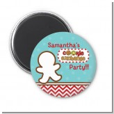Cookie Exchange - Personalized Christmas Magnet Favors