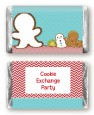 Cookie Exchange - Personalized Christmas Mini Candy Bar Wrappers thumbnail