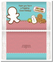 Cookie Exchange - Personalized Popcorn Wrapper Christmas Favors