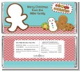 Cookie Exchange - Personalized Christmas Candy Bar Wrappers thumbnail