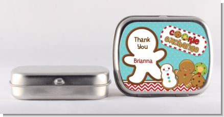 Cookie Exchange - Personalized Christmas Mint Tins