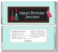 Cooking Class - Personalized Birthday Party Candy Bar Wrappers thumbnail