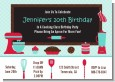 Cooking Class - Birthday Party Invitations thumbnail