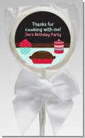 Cooking Class - Personalized Birthday Party Lollipop Favors