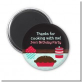 Cooking Class - Personalized Birthday Party Magnet Favors