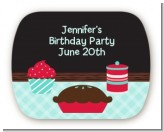 Cooking Class - Personalized Birthday Party Rounded Corner Stickers