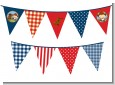 Little Cowboy - Baby Shower Themed Pennant Set thumbnail
