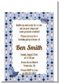 Cowboy Western - Baby Shower Petite Invitations