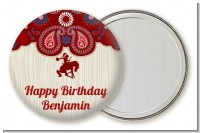 Cowboy Rider - Personalized Birthday Party Pocket Mirror Favors