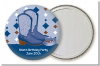 Cowboy Western - Personalized Birthday Party Pocket Mirror Favors