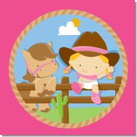 Little Cowgirl Western Baby Shower Theme
