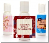 Cowgirl Rider - Personalized Birthday Party Lotion Favors