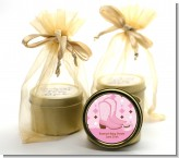 Cowgirl Western - Baby Shower Gold Tin Candle Favors