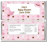 Cowgirl Western - Personalized Baby Shower Candy Bar Wrappers