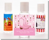 Cowgirl Western - Personalized Birthday Party Hand Sanitizers Favors