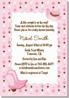 Cowgirl Western - Baby Shower Invitations