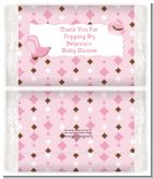 Cowgirl Western - Personalized Popcorn Wrapper Baby Shower Favors