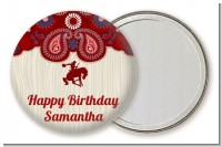 Cowgirl Rider - Personalized Birthday Party Pocket Mirror Favors
