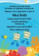 Under the Sea Asian Baby Boy Twins Snorkeling - Baby Shower Invitations thumbnail